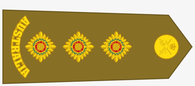 Australian Army Rank Of 2 Australian Army Officer Rank Insignia Png Image Transparent Png Free Download On Seekpng
