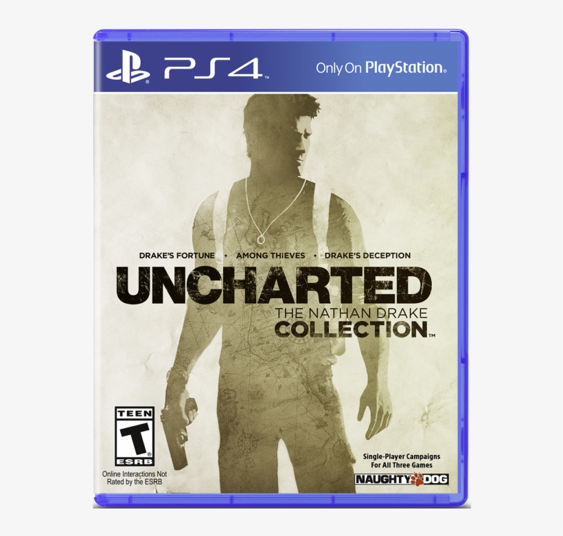 Ps4 Uncharted The Nathan Drake Collection Console Png Image Transparent Png Free Download On Seekpng