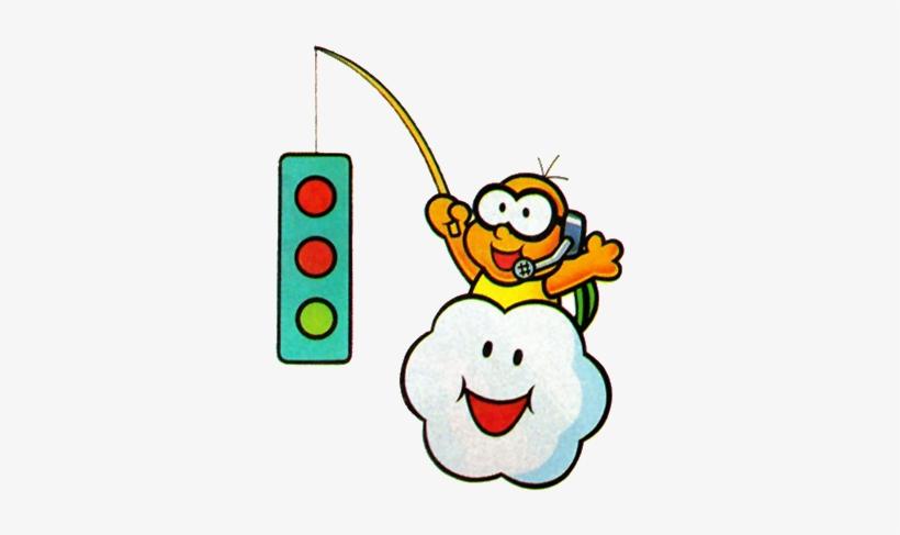 Smk Lakitu - Mario Kart Stop Light PNG Image | Transparent