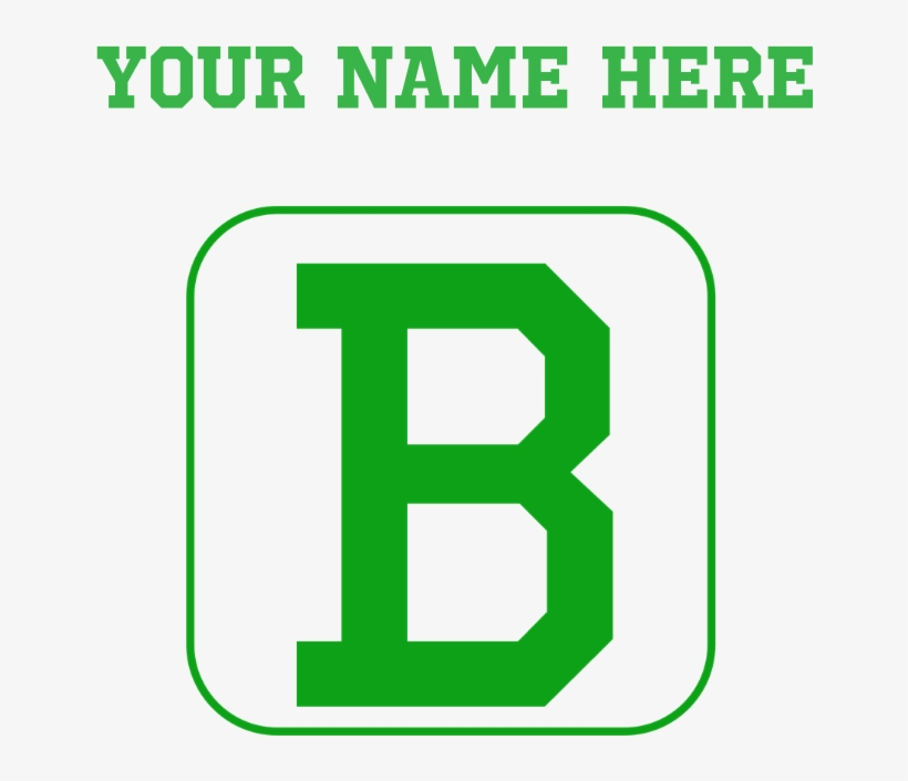 Custom Green Block Letter B Baby Blanket - Cafepress Personalized