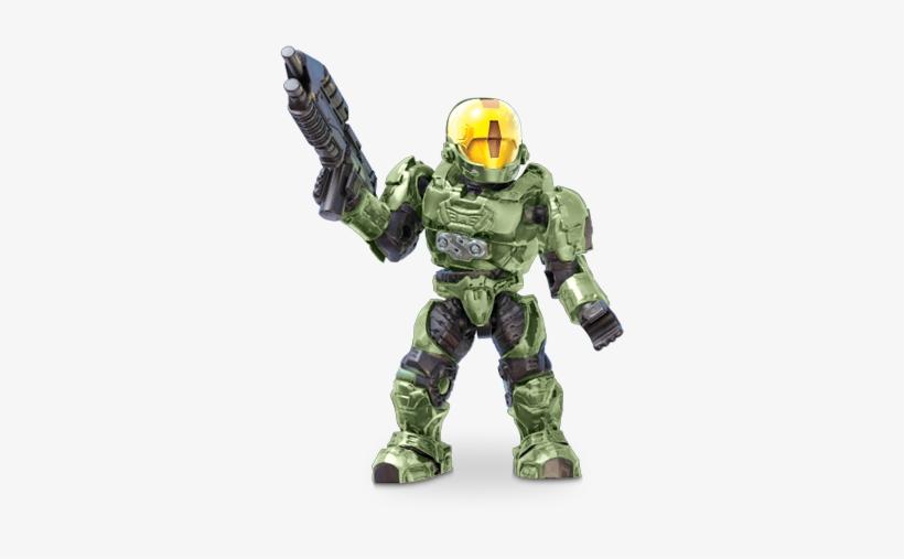 Unsc Spartan Eva - Halo Mega Bloks Eva PNG Image