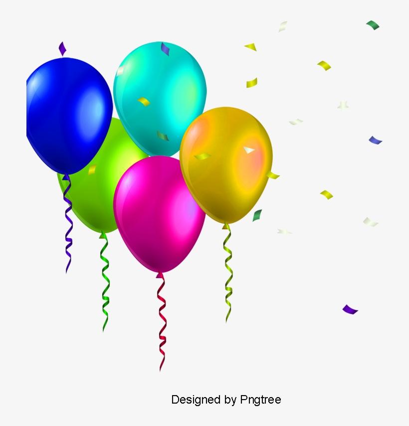 birthday balloons colored balloons birthday vector balloon png