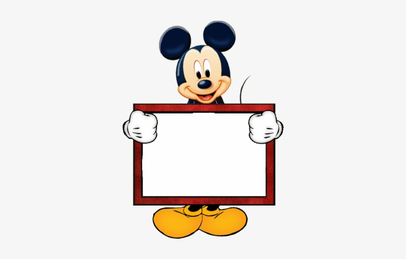 Download Mickey Mouse Clipart Hq Png Image Mickey Mouse Borders And Frames Png Image Transparent Png Free Download On Seekpng
