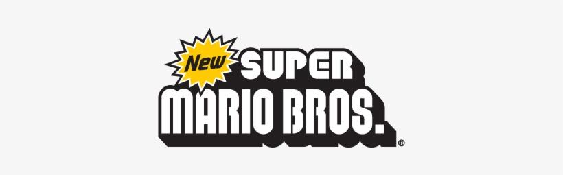 New Super Mario Bros Nintendo Vector Logo - New Super Mario