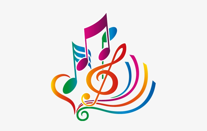 Picture Transparent Stock Colorful Music Staff Clipart Note De Musique Couleur Png Image Transparent Png Free Download On Seekpng