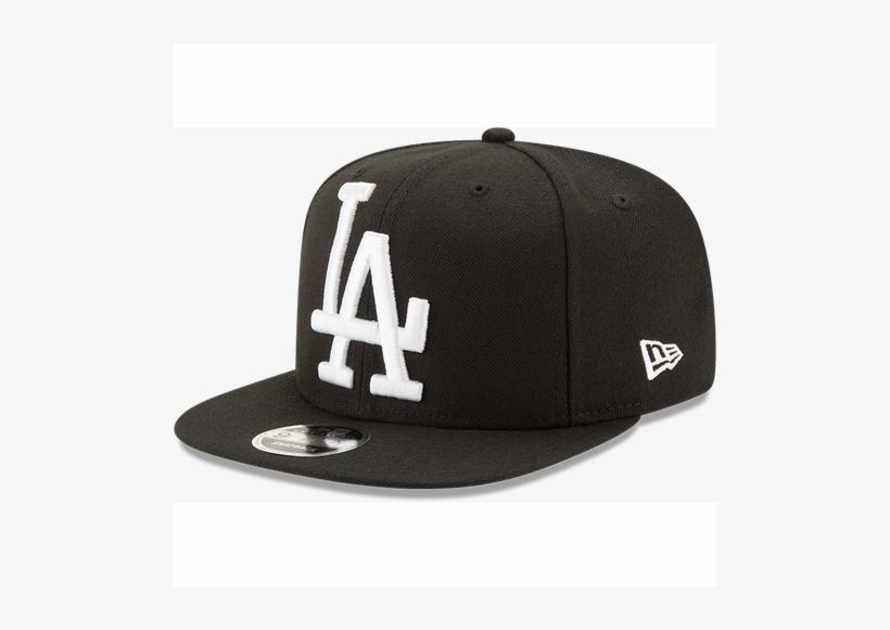 sports shoes 1a10d c6a05 Los Angeles Dodgers Black Logo Grand New Era 9fifty - New Era