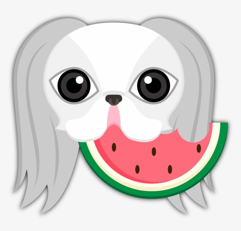 Japanese Chin Emoji Stickers Are You A Japanese Chin - Emoji