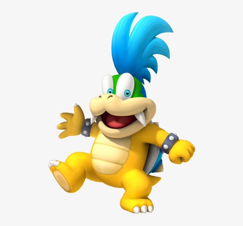 The Nintendo Wiki Larry Koopa New Super Mario Bros 2 Png Image