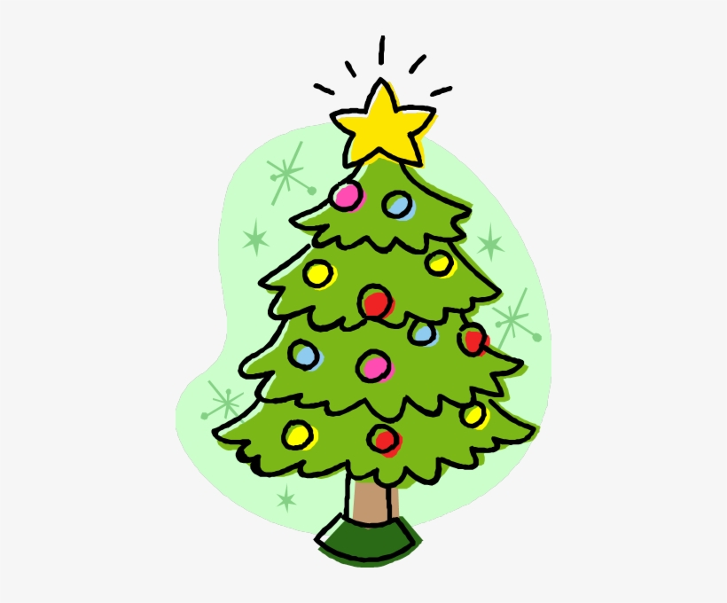 12++ Christmas Tree Cartoon Transparent