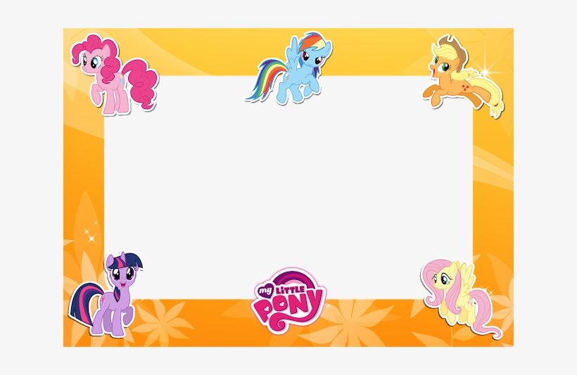 My Little Pony Friends Yellow Png Frame My Little Pony Friendship
