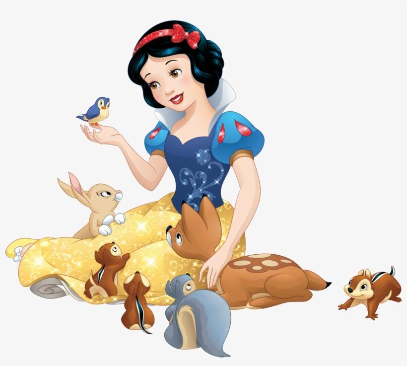 Blanca Nieves - 19 - Snow White Sticker@seekpng.com