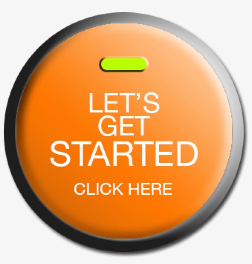 Let's Get Started Button PNG Image | Transparent PNG Free Download on SeekPNG