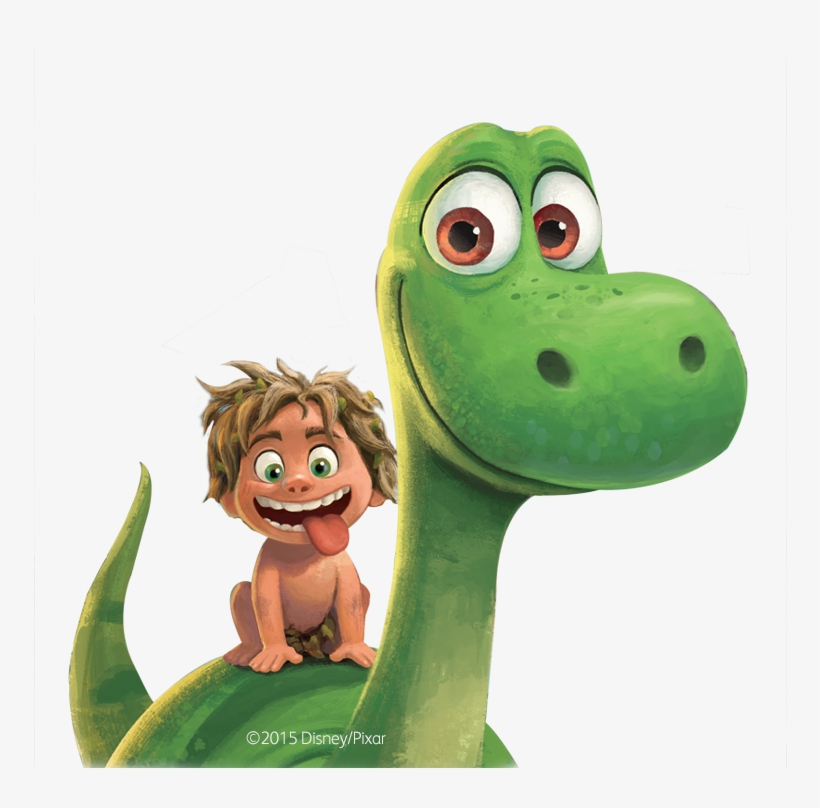 Картинки героев хороший динозавр