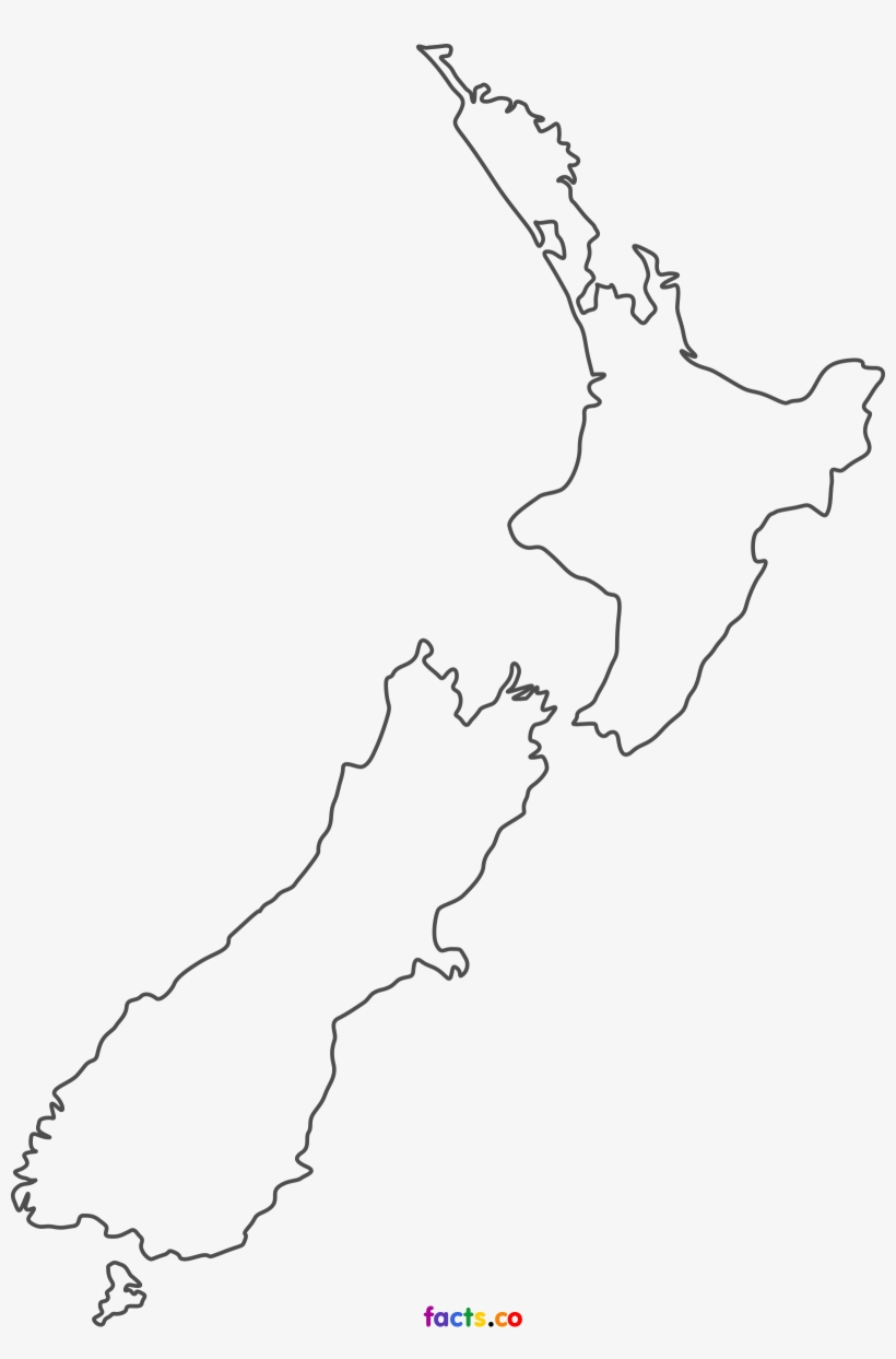 New Zealand Map New Zealand Map Blank Png Image Transparent Png Free Download On Seekpng