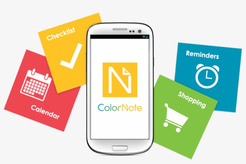 Colornote Logo Korea - Best Android Apps Note PNG Image