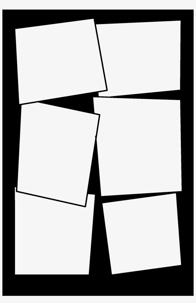 Comic Book Template Png from www.seekpng.com