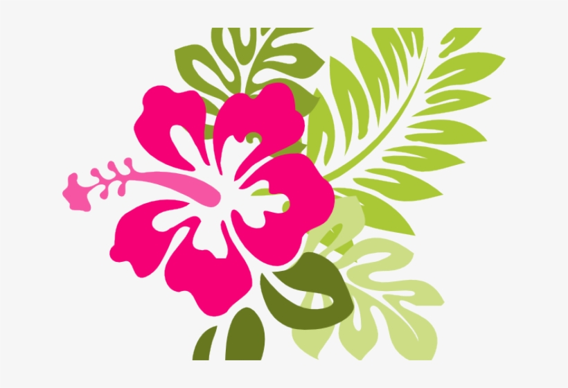 Red Flower Clipart Moana Purple Hibiscus Clip Art Png Image