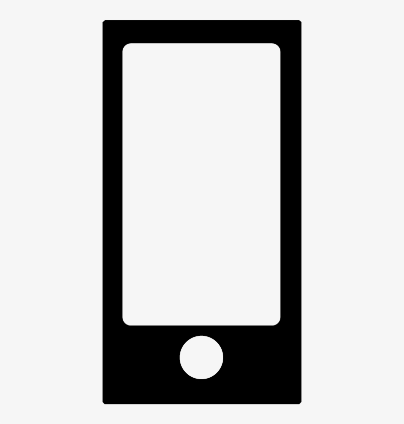 Ipod Nano Music Player Device Icon Vector - Blank Ipad PNG