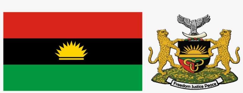 Biafra Comprised Over 29,848 Square Miles Of Land, - Biafra Logo And Flag  PNG Image   Transparent PNG Free Download on SeekPNG