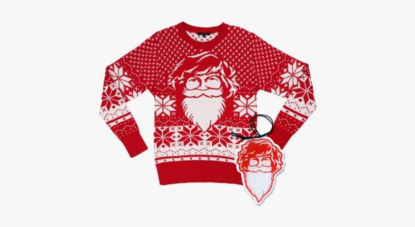 Danny Duncan Ugly Christmas Sweater Christmas Jumper Png Image Transparent Png Free Download On Seekpng