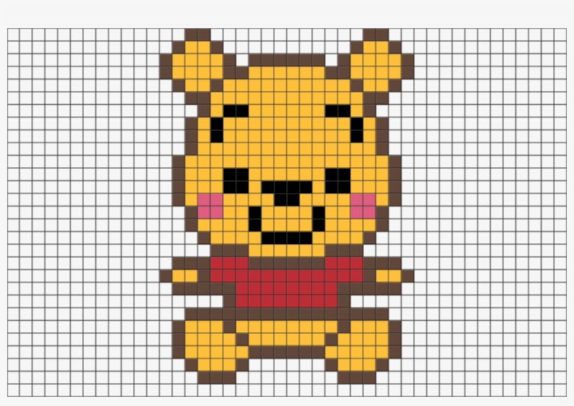 Http Cdn Shopify Pooh Pixel Art Pixel Art Baby