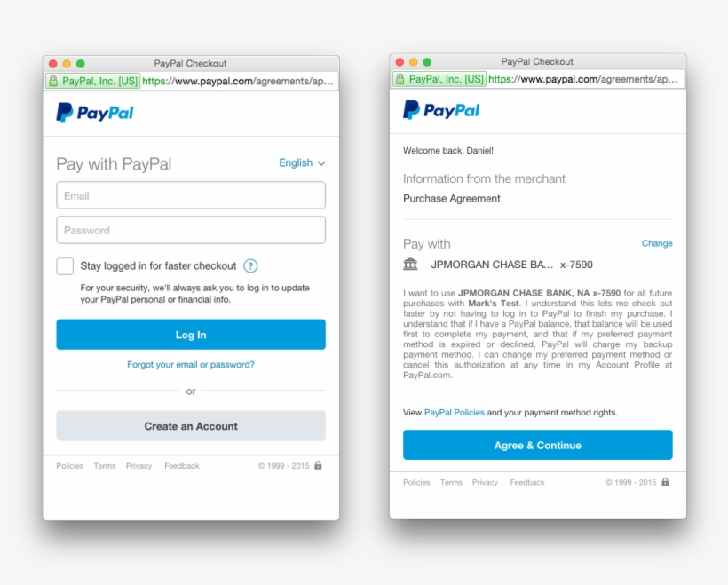 If You Are Using Our Vault Flow, Paypal Customers Will