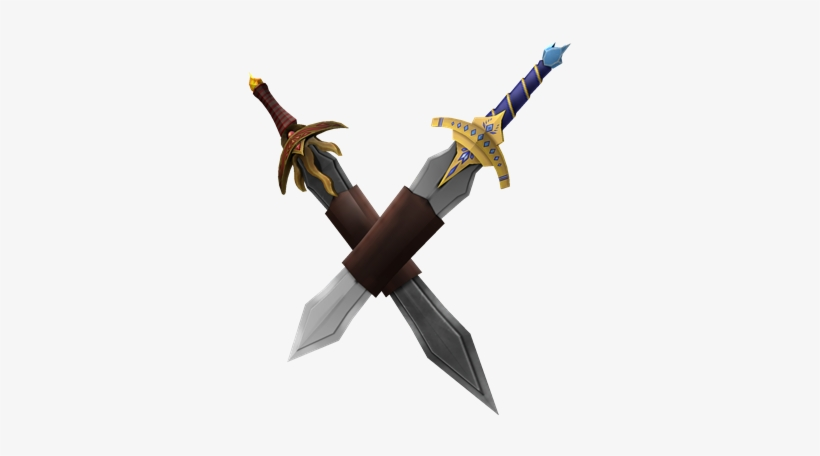 Fire And Ice Swordpack - Fire And Ice Sword Roblox PNG Image