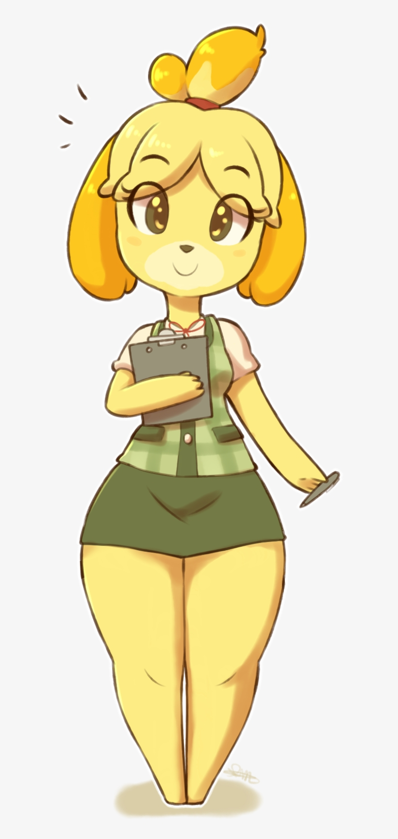 Isabelle By Spikedmauler Db5yilw Isabelle Animal Crossing