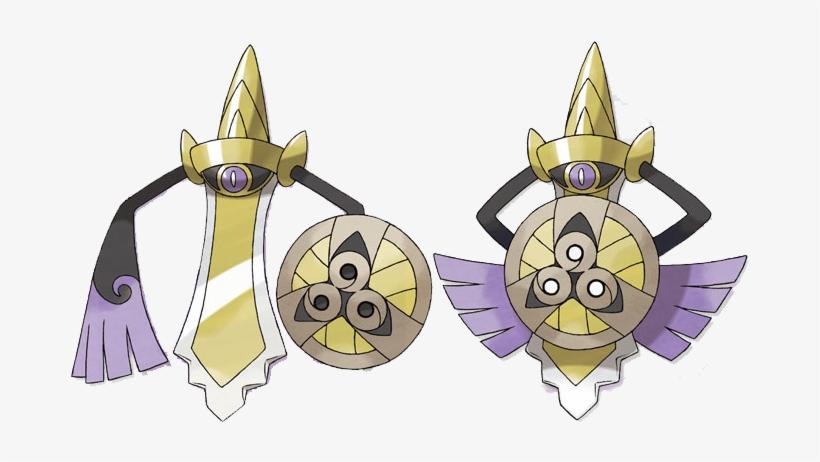 Aegislash Shield Form - Pokemon Fighting Type Trainers PNG