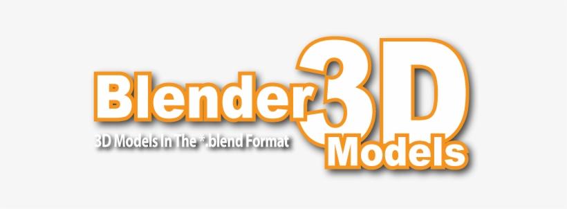 Blender 3d Models - Free 3d Objects Blender PNG Image