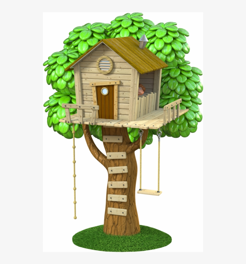 Treehouse Stickers Stickers For Kids Cabane Dans Les Arbres