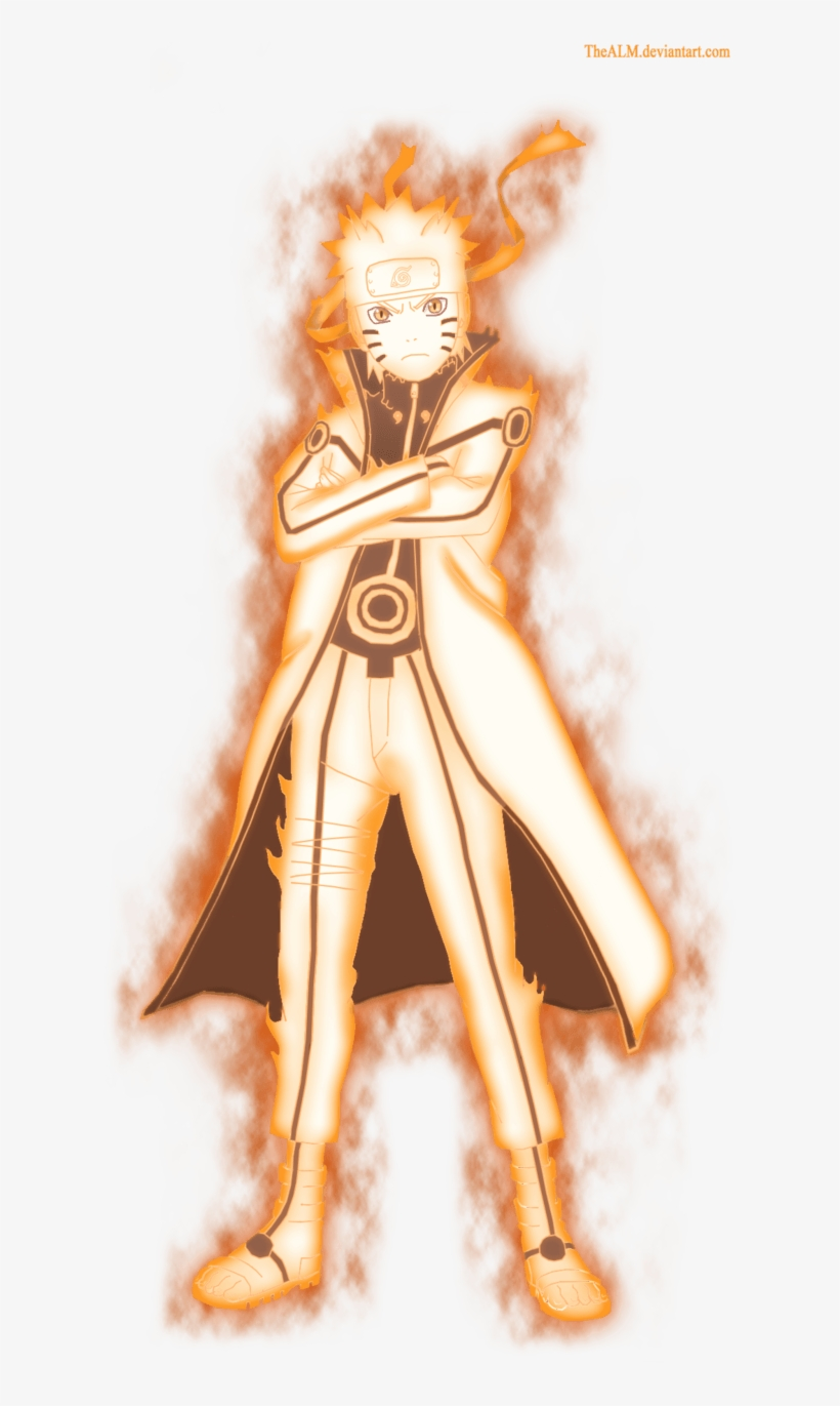 Naruto Nine Tails Chakra Mode By Dattexx On Deviantart Naruto Chakra Mode Png Png Image Transparent Png Free Download On Seekpng