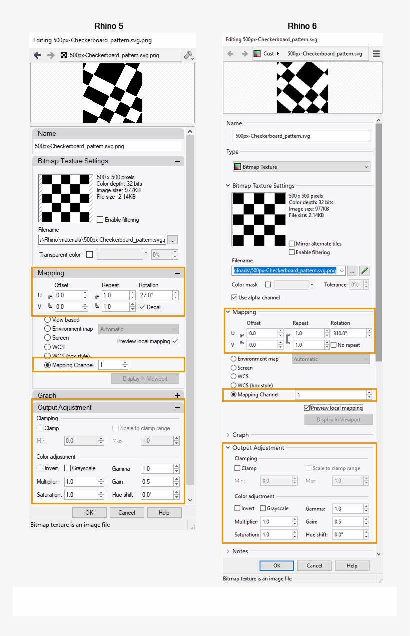 In The Rhino Material Editor For Enscape - Design PNG Image