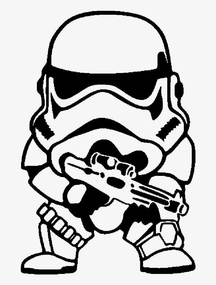 Clipart Library Library Stormtrooper Chibi Yoda Drawing Star Wars Trooper Chibi Png Image Transparent Png Free Download On Seekpng
