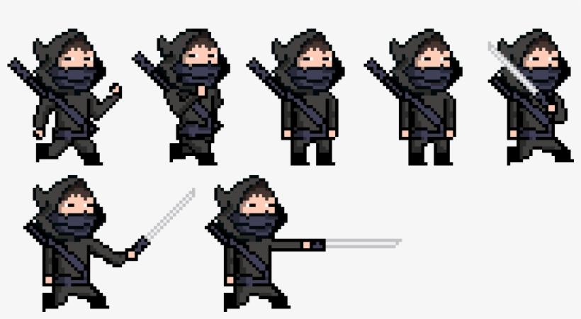 New Ninjas Pixel Art Png Image Transparent Png Free
