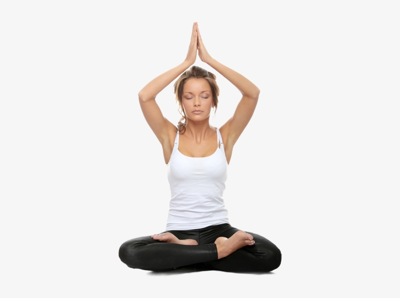 Yoga Pose Transparent Woman Doing Yoga Poses Png Image Transparent Png Free Download On Seekpng