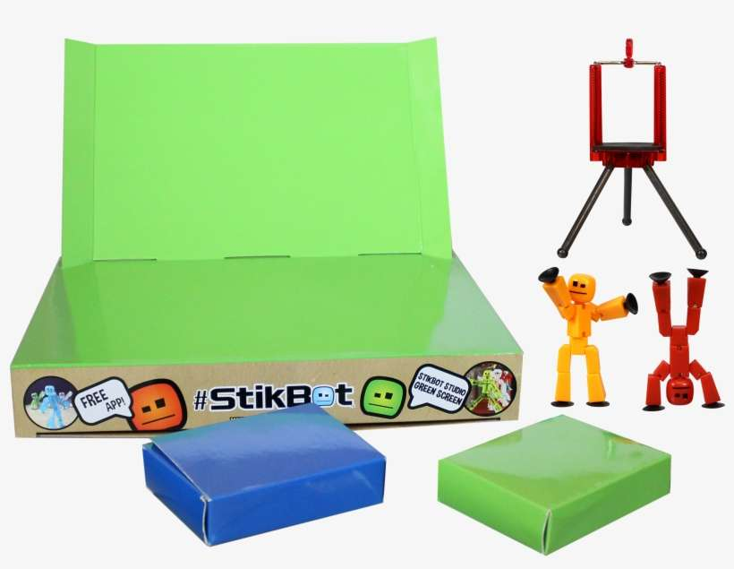 Stikbot Green Screen Color PNG Image   Transparent PNG Free