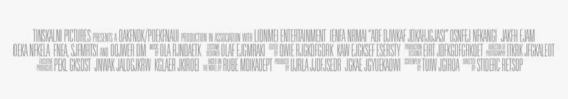 Movie Poster Text Generator Movie Poster Credits Fonts