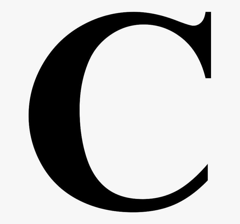 C High Quality Png Letter C Times New Roman Png Image