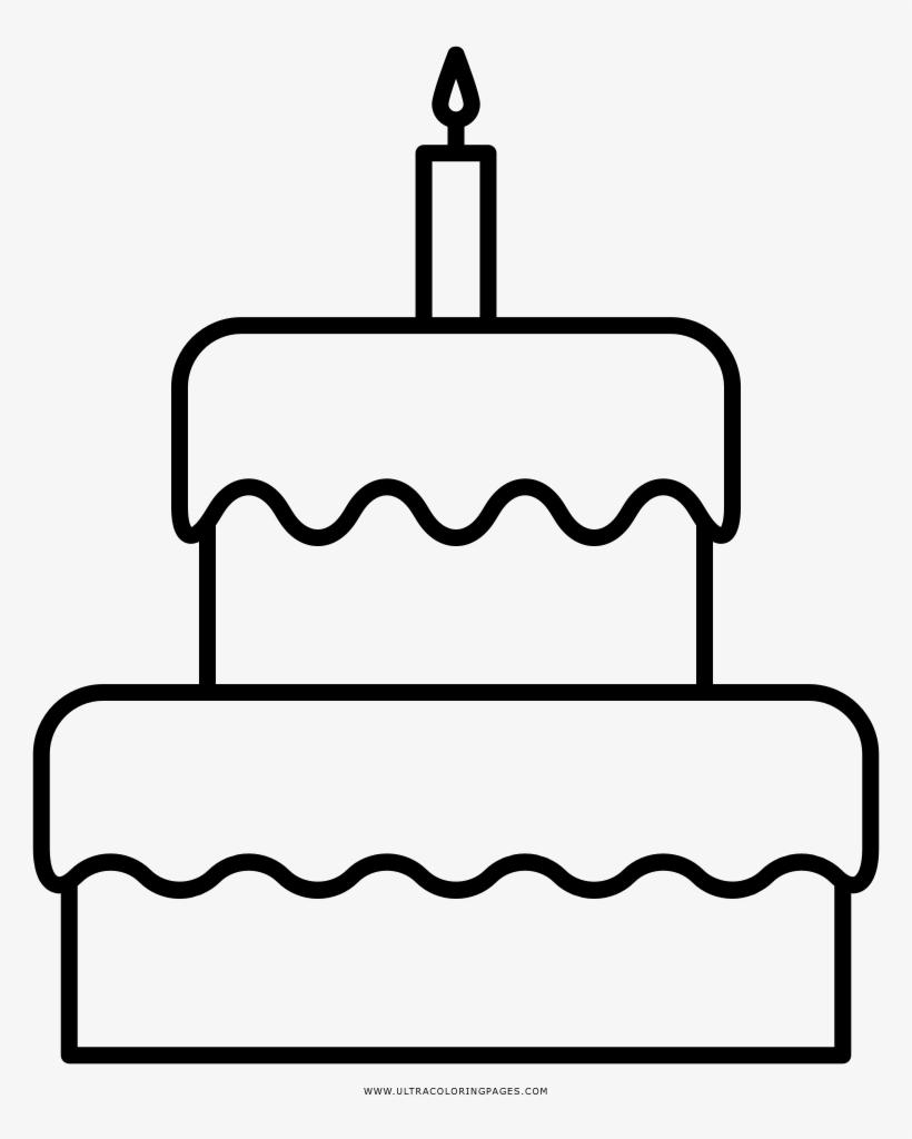 Gambar Mewarnai Kue Ulang Tahun Gambar Mewarnai