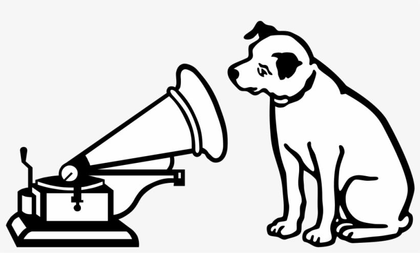 Hmv Logo Dog Rca Dog Png Png Image Transparent Png Free Download