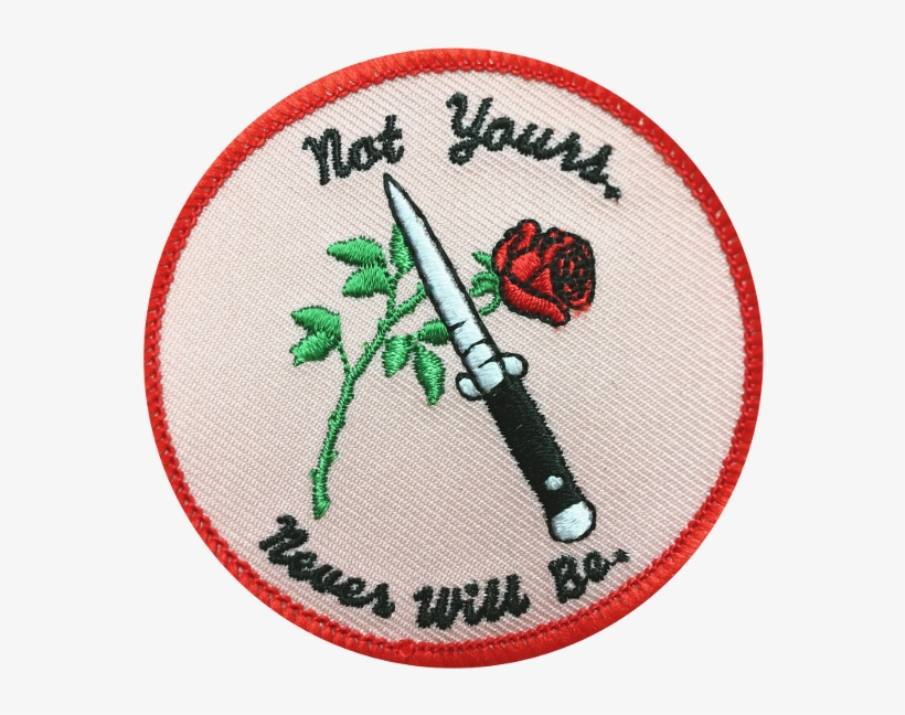 Embroidered Patch Sad Anime Aesthetic Twitter Headers Png