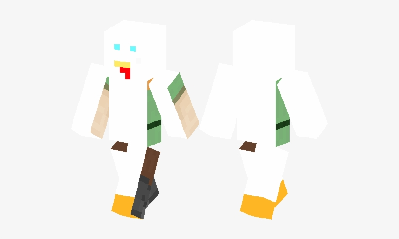 Winter Girl Skins Minecraft Pe Png Image Transparent Png