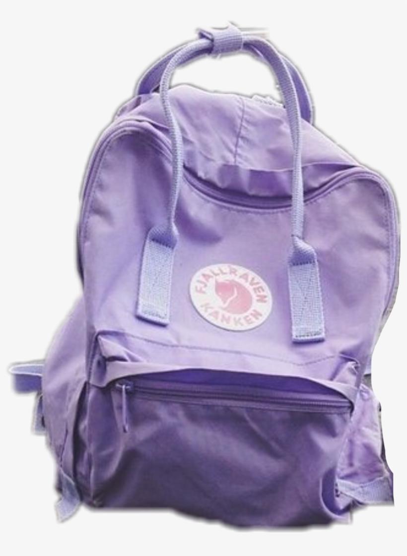 Tumblr Backpacks Brands Purple Kanken Png Image Transparent Png