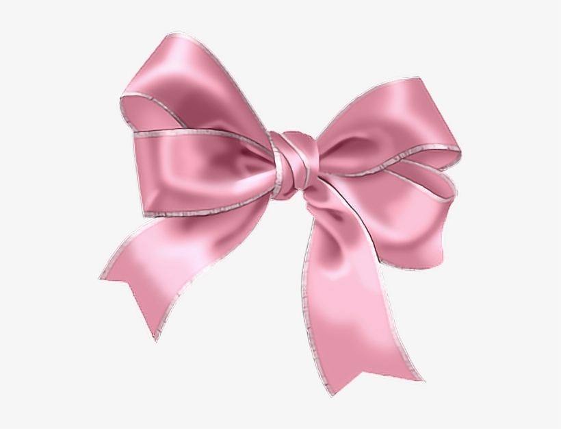 Ribbon Kawaii Pink Cute Girly Tumblr Ftestickers Baby Blue