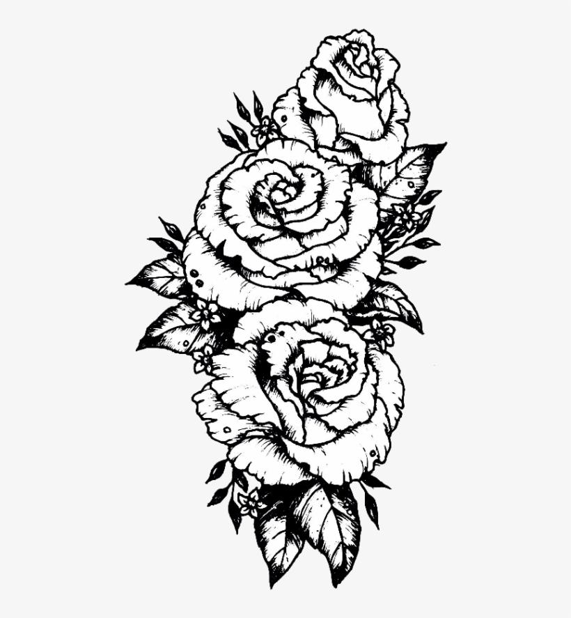 Tumblr Sticker Stickers Flower Flowers Rose Roses Black Rosas