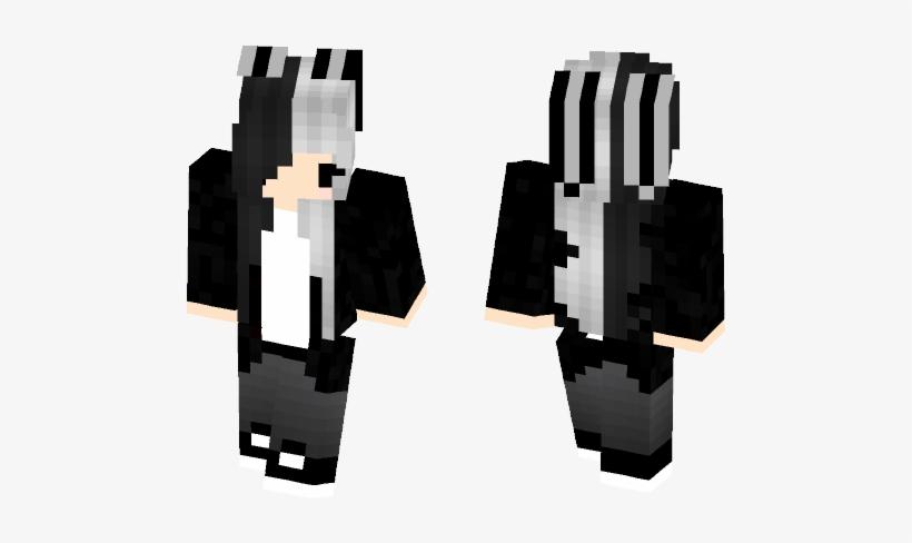 Kawaii Minecraft Skins Halloween Minecraft Skin Png Image