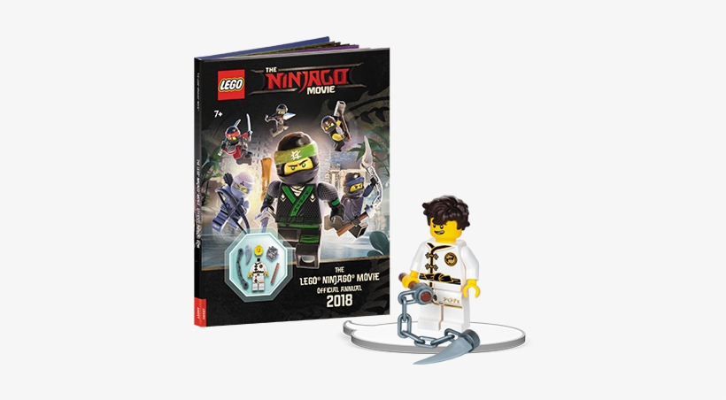 With Buildable The Lego Ninjago Movie Minifigure Lego Ninjago Movie Books Png Image Transparent Png Free Download On Seekpng