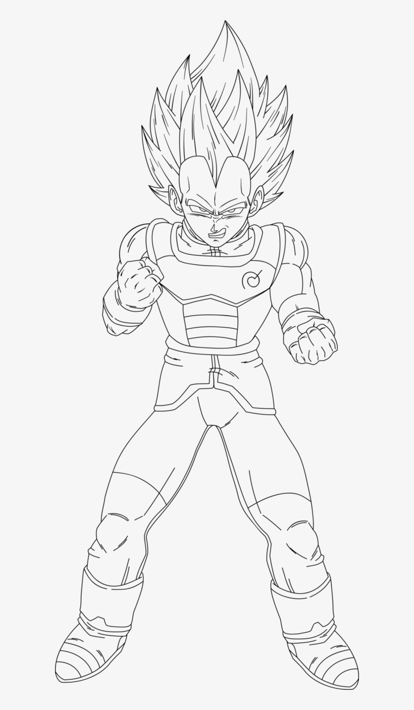 Ssgss Goku Coloring Pages Draw Vegeta Ssg Full Body Png