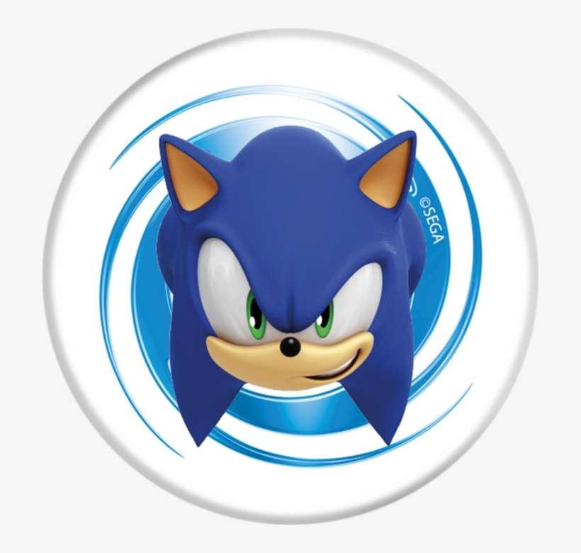 Popsockets Sonic The Hedgehog Face Sonic Hedgehog Face Png Image Transparent Png Free Download On Seekpng